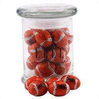 774523131-105 - Jar w/Chocolate Footballs - thumbnail