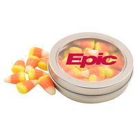784520735-105 - Round Tin w/Candy Corn - thumbnail