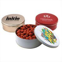 784523304-105 - Gift Tin w/Chocolate Basketballs - thumbnail
