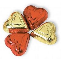 785554197-105 - Foil Wrapped Milk Chocolate Hearts (Bulk) - thumbnail
