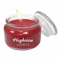 792866515-105 - Aromatherapy Wax Candle 8oz Glass Apothecary Jar - thumbnail