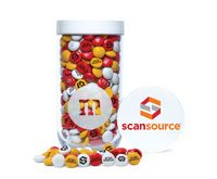 796099464-105 - Gift Jar with Printed Customized Lid with Personalized M&M'S® - thumbnail