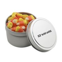 914521030-105 - Round Tin w/Candy Corn - thumbnail