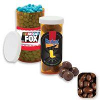 915554308-105 - Small Pill Bottle Filled w/ Milk Chocolate Raisin - thumbnail