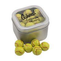 924520619-105 - Window Tin w/Chocolate Tennis Balls - thumbnail