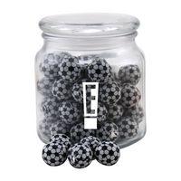 924522798-105 - Jar w/Chocolate Soccer Balls - thumbnail