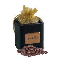 945554615-105 - X-Cube Pen Holder w/ Dark Chocolate Almonds - thumbnail