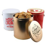 95783267-105 - 1 Gallon Gift Tin w/Cookies - thumbnail