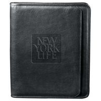 501116954-115 - Manhattan Zippered Padfolio - thumbnail