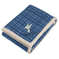 505812821-115 - Field & Co.® Plaid Sherpa Blanket w/Full Color Car - thumbnail