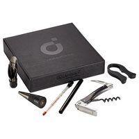 535450590-115 - Laguiole Black Wine Gift Set - thumbnail