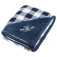 546068929-115 - Field & Co.® Double Sided Plaid Sherpa Blanket - thumbnail