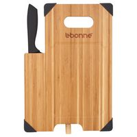 585783280-115 - Bamboo Cutting Board with Knife - thumbnail