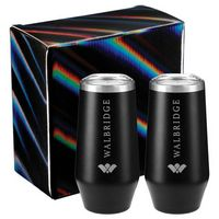 946170895-115 - Cru Champagne Flute 9oz 2 in 1 Gift Set - thumbnail