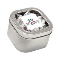 104446823-116 - Hersheys® Kisses® in Lg Square Window Tin - thumbnail