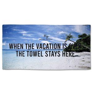 146507786-116 - 25% Polyester/75% Cotton Blended Beach Towel 30x60 - thumbnail