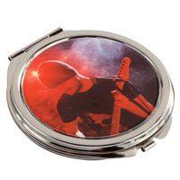 153725757-116 - Round Metal Compact Mirror - thumbnail