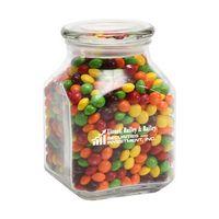 184443615-116 - Skittles® in Lg Glass Jar - thumbnail