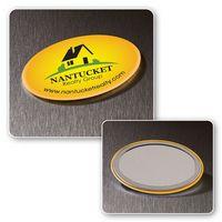 314555796-116 - Oval Button Mirror - thumbnail