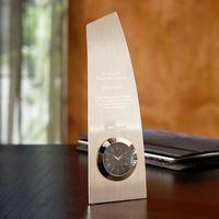 323964632-116 - Metal Trophy Clock - thumbnail