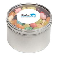 374448193-116 - Jelly Belly® Candy in Lg Round Window Tin - thumbnail