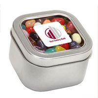 594448334-116 - Jelly Belly® Candy in Lg Square Window Tin - thumbnail