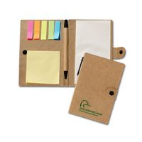 714500346-116 - Recycled Jotter W/Post A Note & Flag Set - thumbnail