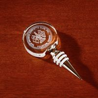 945378990-116 - 3D Crystal Circle Bottle Stopper - thumbnail