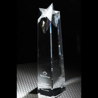 962877790-116 - Shooting Star Large Optically Perfect Award - thumbnail