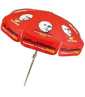 71892882-154 - Domestic Vinyl Patio / Cafe Umbrella with Crank - thumbnail