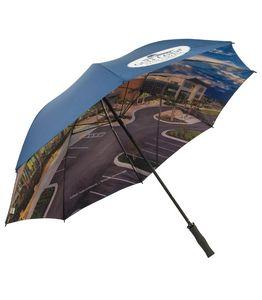 964534757-154 - Double Cover Full Color Golf Umbrella - thumbnail