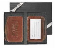 105307722-159 - Venezia™ Luggage Tag Set - thumbnail