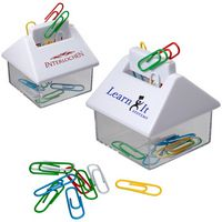 105666602-159 - House Paper Clip Dispenser - thumbnail