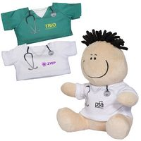 "325513581-159 - 7"" Doctor or Nurse MopToppers® Plush Toy - thumbnail"