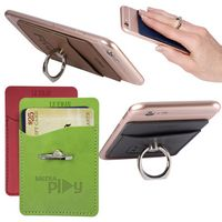 365446746-159 - Tuscany™ Card Holder w/Metal Ring Phone Stand - thumbnail