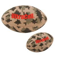 "365666922-159 - 5"" Digital Camo Football Stress Reliever - thumbnail"