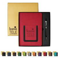 366174099-159 - Roma Journal & Executive Stylus Pen Set - thumbnail