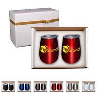 375704007-159 - Duo Vacuum Stemless Wine Tumbler Gift Set - thumbnail