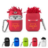526253915-159 - MopToppers® Silicone Earbud Case w/Carabiner - thumbnail