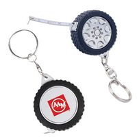 545666381-159 - 3 Ft. Tire Tape Measure Key Chain - thumbnail