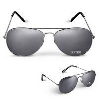 545947249-159 - Mirrored Aviator Sunglasses - thumbnail