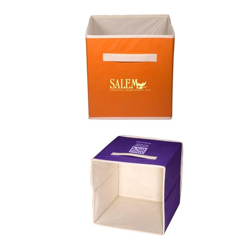 554596062-159 - Folding Non-Woven Storage Bin - thumbnail