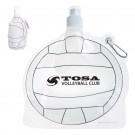 555666757-159 - HydroPouch!™ 24 Oz. Volleyball Collapsible Water Bottle - thumbnail
