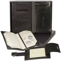 593397959-159 - Whitney™ Peconic Passport & Luggage Tag Set - thumbnail