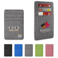 596142629-159 - Heathered RFID Wallet with 6 Card Pockets - thumbnail