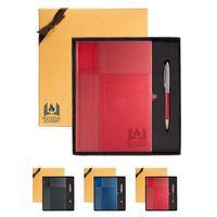 724913449-159 - Duo-Textured Tuscany™ Journal & Pen Gift Set - thumbnail