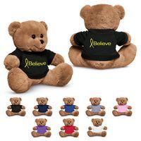"745954172-159 - 8.5"" Plush Bear w/T-Shirt - thumbnail"
