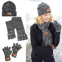 766050641-159 - Prime Line® Leeman™ 3-in-1 Heathered Knit Winter Set - thumbnail
