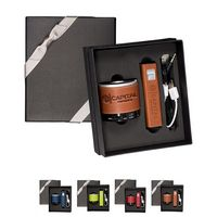 775171997-159 - Tuscany™ Power Bank and Wireless Speaker Gift Set - thumbnail