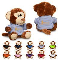 """775715894-159 - 7"""" Plush Monkey w/T-Shirt - thumbnail"""